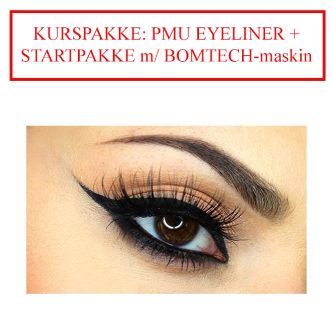 Bilde av KURSPAKKE: PMU EYELINER + STARTPAKKE