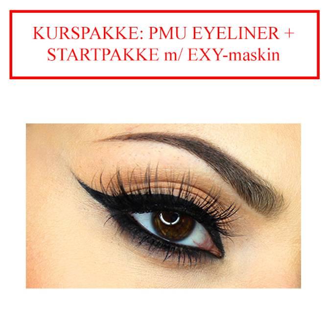 Bilde av KURSPAKKE: PMU EYELINER + STARTPAKKE m/EXY-maskin