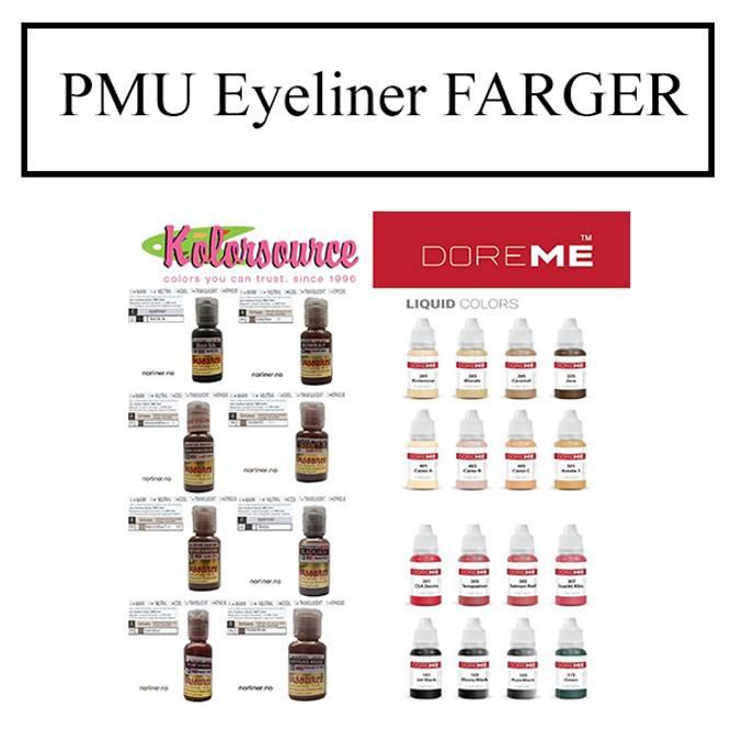Bilde av PMU Eyeliner FARGER