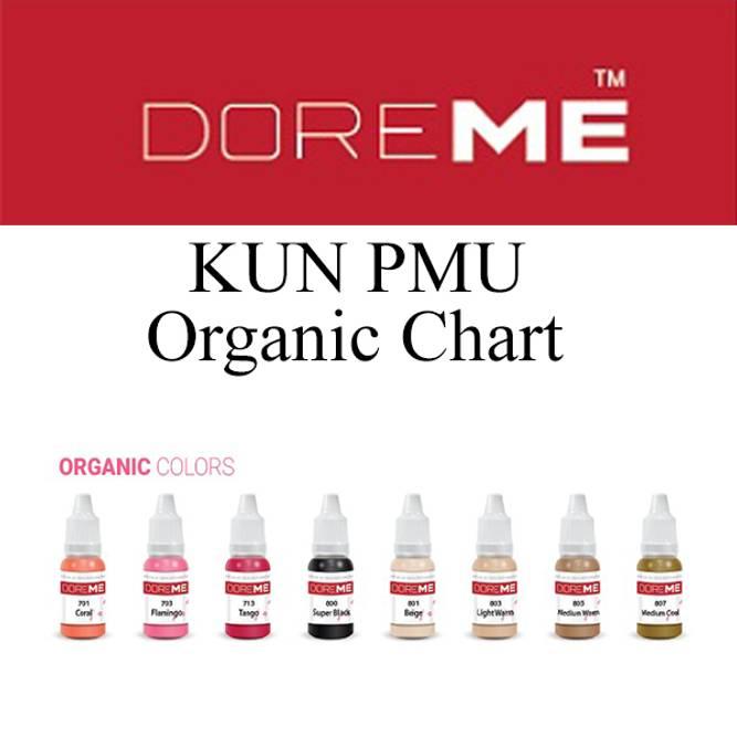 Bilde av DOREME KUN PMU Organic Chart