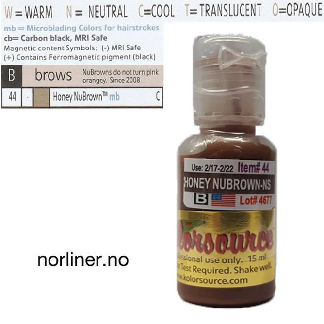 Bilde av KOLORSOURCE #44 Honey Nubrown til Microblading