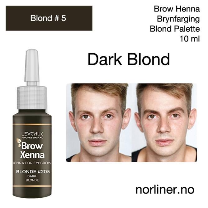 Bilde av LB-BH BROW XENNA Blond #5(205) Dark Blond 10ml