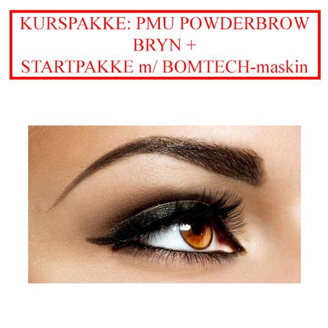 Bilde av KURSPAKKE: PMU POWDER BROWS BRYN + STARTPAKKE