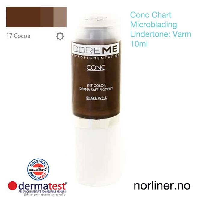 Bilde av MT-DOREME #17 Cocoa til Microblading [Conc Chart]